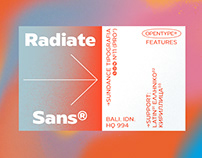 Radiate Sans (Free Demo)