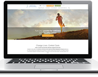 Health and Wellness Management Website Design
