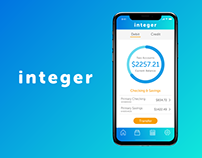 Integer Mobile Banking App