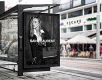 Saint Laurent sac de jour campaign (PERSONAL PROJECT)