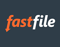 Fastfile logo design