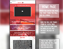 Website Design - Photoshop