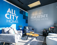 All City Homes Environmental Graphics Retail Project