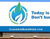 Burn Cleaner Burn Better Campaign