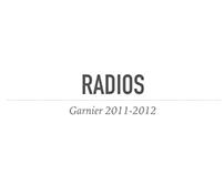 GARNIER radios 2011-2012