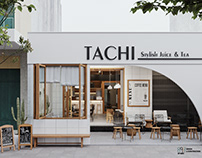 Tachi coffee tea shop concept 1 |CGI