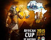 بطولة كاس الامم الافريقية مصر 2019