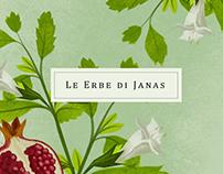 Le Erbe di Janas // Packaging