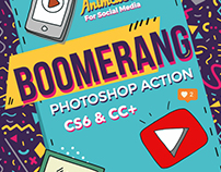 Boomerang Photoshop Effect
