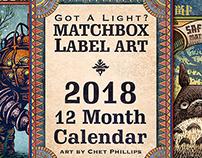 2018 ChetArt Wall Calendar