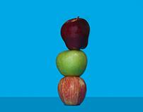 Haut comme 3 pommes - stop motion