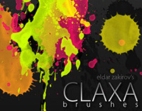 Free CLAXA Photoshop brushes for Designers and Artists