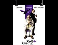 'SPIES & GLISTRUP' Danish Theatrical Poster