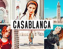 Free Casablanca Mobile & Desktop Lightroom Preset