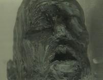 """""""Gollum. Shiloach"""", plasticine, wire, water, 2014"""