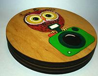 Owls coasters