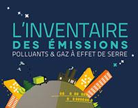 Infographie - L'inventaire des émissions polluants