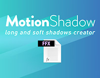 MotionShadow - Free AE Preset