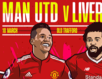 Man Utd V Liverpool for LiveWire Sport
