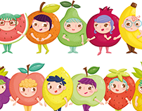 Tutti-Frutti Friends Collection