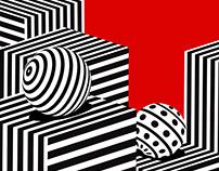 Stripes City - GIF