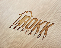 Rokk Carpentry | Logo Design | Brand Identity