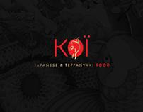 Koï restaurant - Brand Identity