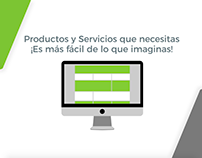 Video Animación Proyecto Solicitalo.cl