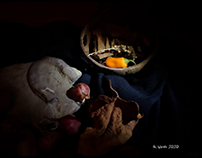 Stilllife with onions