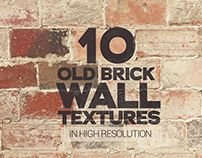 Old Brick Wall Textures x10