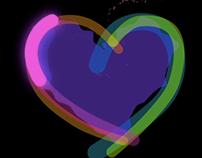 Electric Glow Heart ♥
