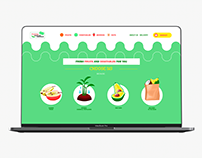 Website Funny fruits and vegetables