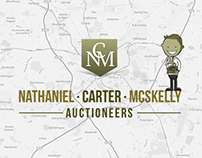 NCM Auctions | Web Design & Iconography