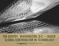 Tim Gentry - Washington, D.C. Global Contributor