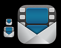 "Icon for ""Video Email"" and iOS App"