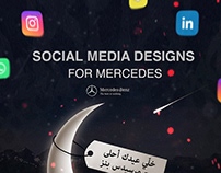 Mercedes-Social Media