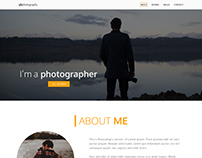 A simple portfolio website example