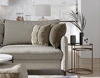 Scandinavian style. Apartments 70 м2. - 2016