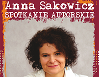 Spotkanie autorskie z Anną Sakowicz.