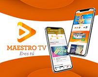 Maestro TV - Estrategia Digital
