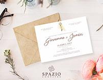 Convites de Casamento Spazio Convites
