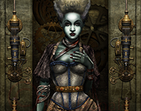 Bride of Frankenstein (Steampunk )