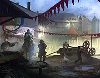 Medieval Market. Tightrope Games