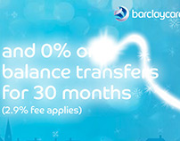 Barclaycard Christmas Flash Banner