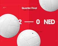 Volley ball Canada