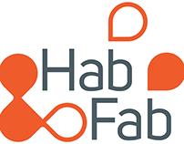 Hab-Fab: Identité visuelle et infographies