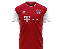 Concept Bayern Home Jersey 2020-2021