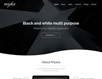 Myska - Business Theme