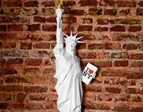 New York Statue of liberty papercraft