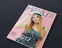 HAKU Magazine for highschool students 2017